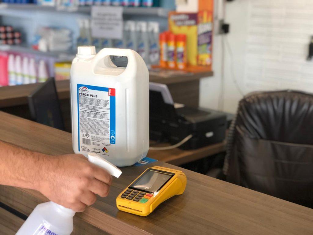 Limpeza de Máquinas de Cartão de Crédito